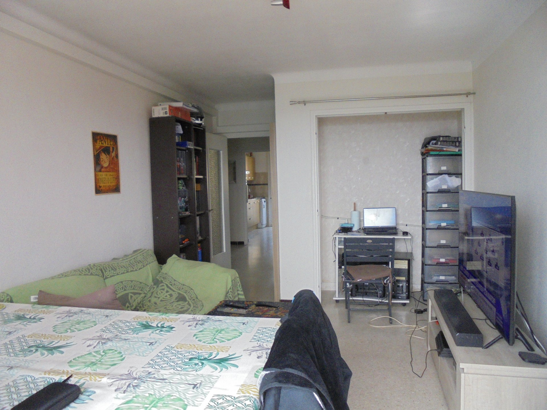 GRASSE, Dernier étage Appartement 2 Pièces, Terrasse, Vue, Garage