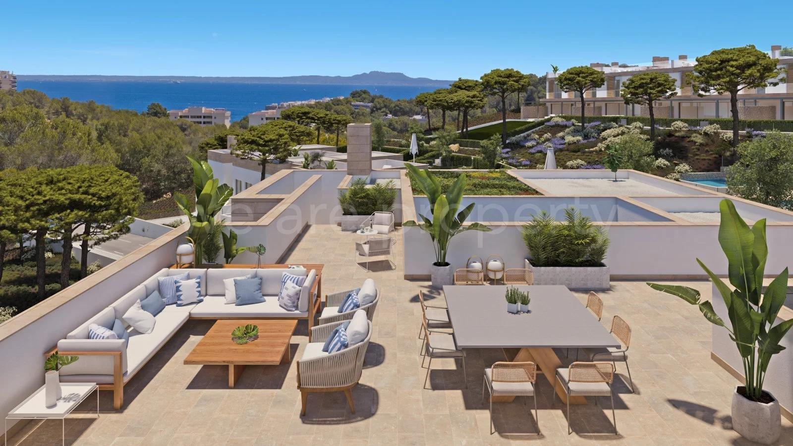 Viviendas exclusivas con carácter Mediterráneo en Cala Vinyes.