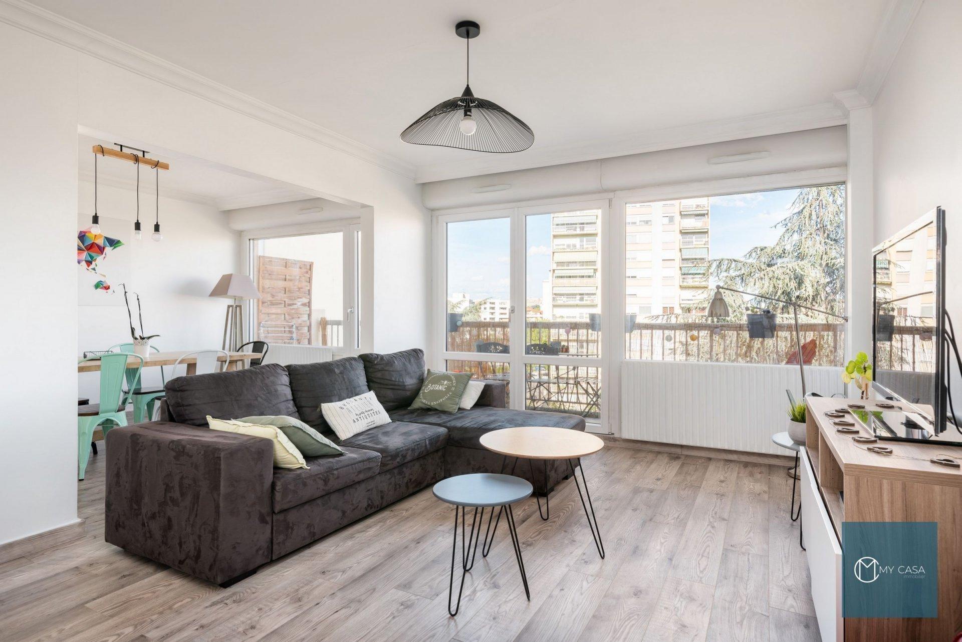 MONPLAISIR - Très beau T3/4 de 85 m2 avec balcon