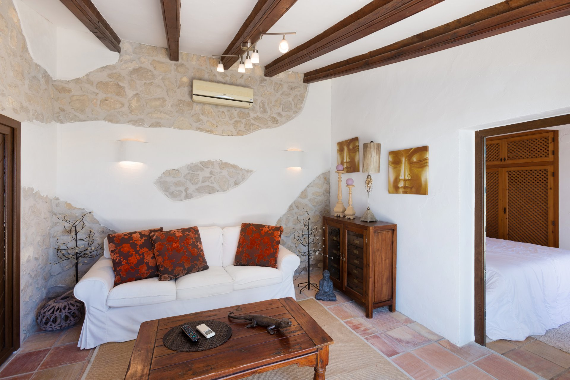 Finca with magnificent panoramic sea views