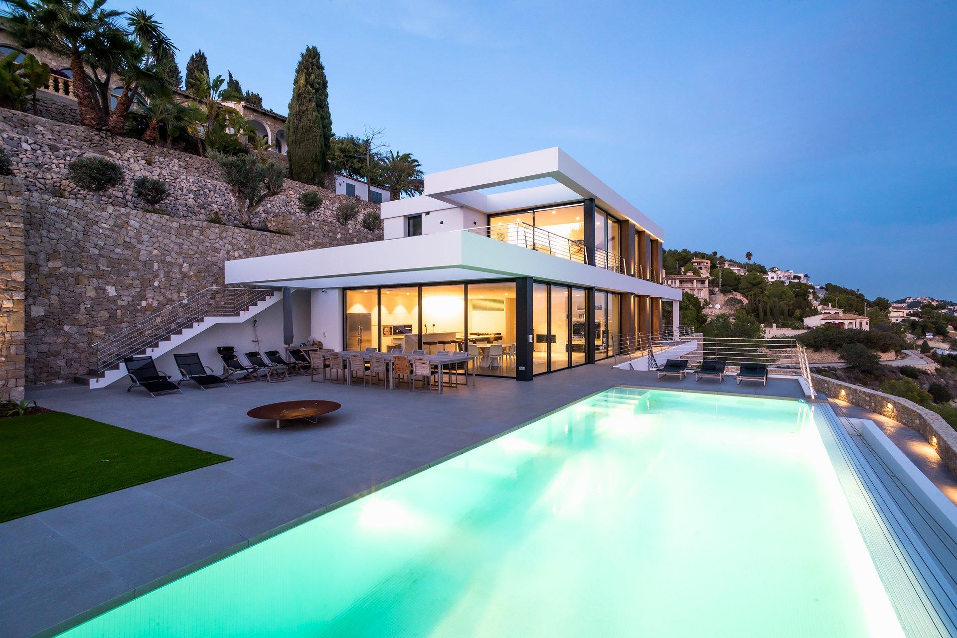 Nouvelle villa moderne à Raco del Galeno