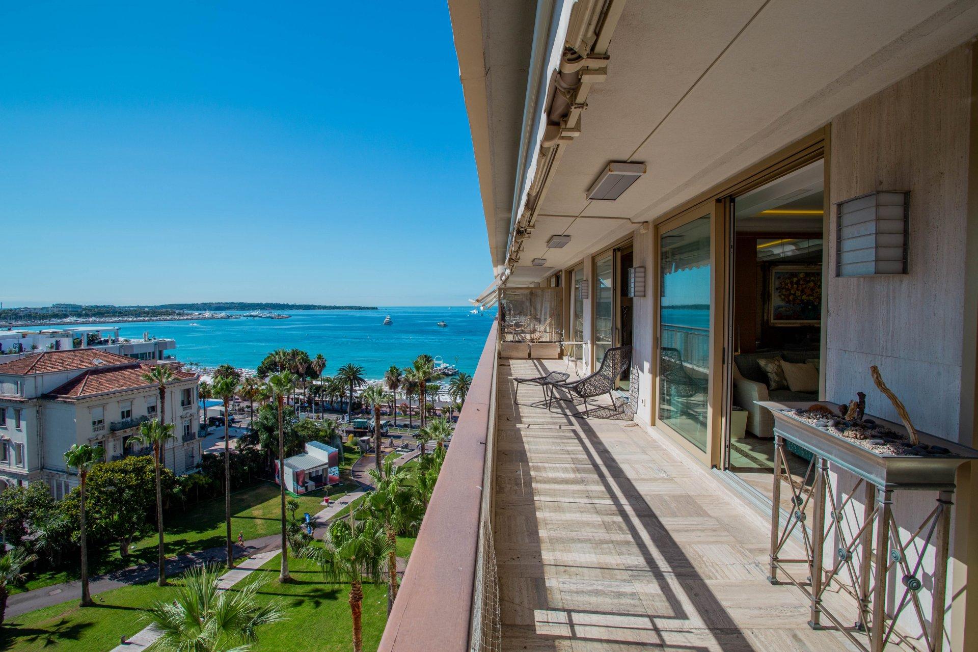 For sale - Top floor apartment - La Croisette Cannes