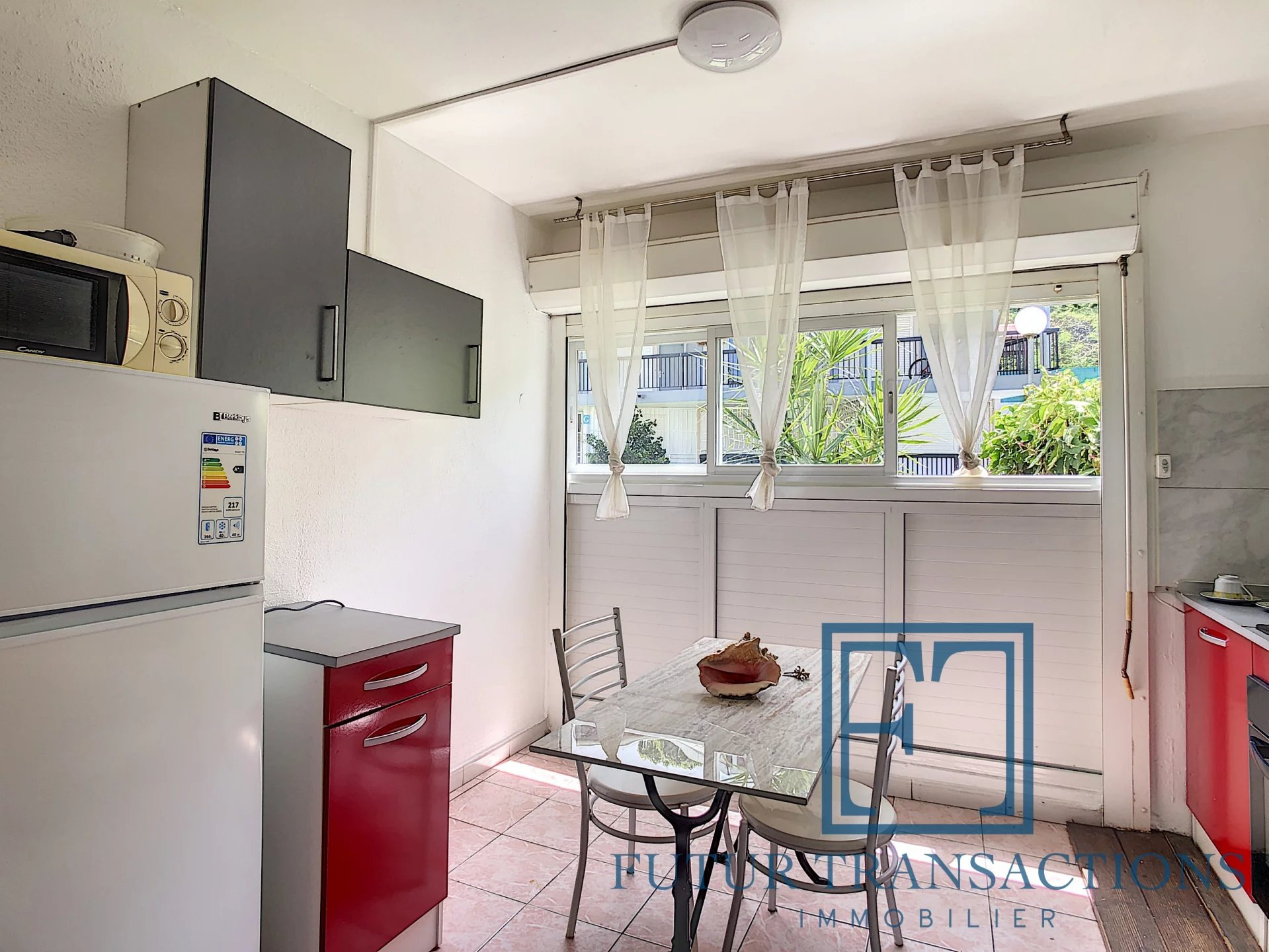 Appartement T1 29 m2 à Bas du Fort