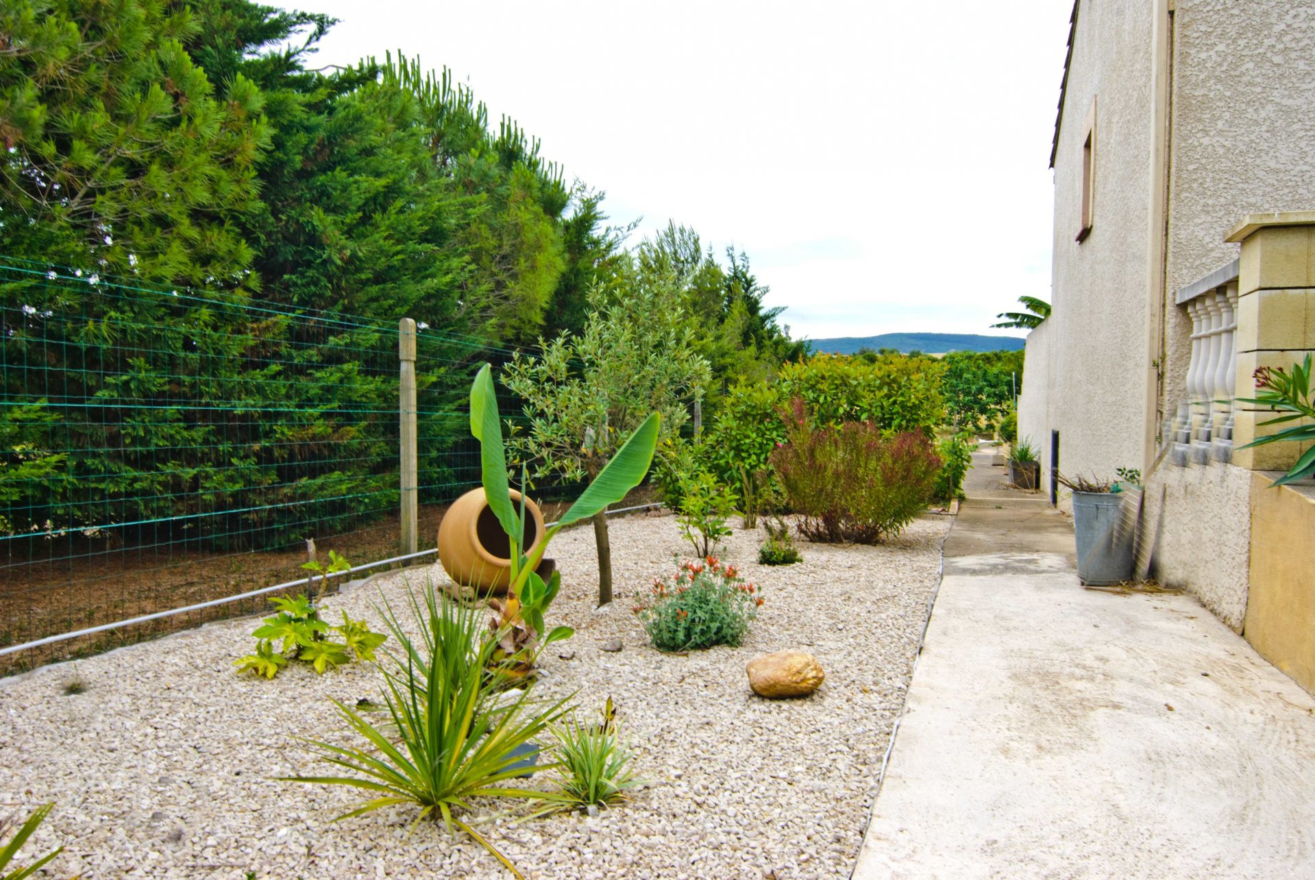 Belle villa 4 chambres et grand jardin avec vue panoramique