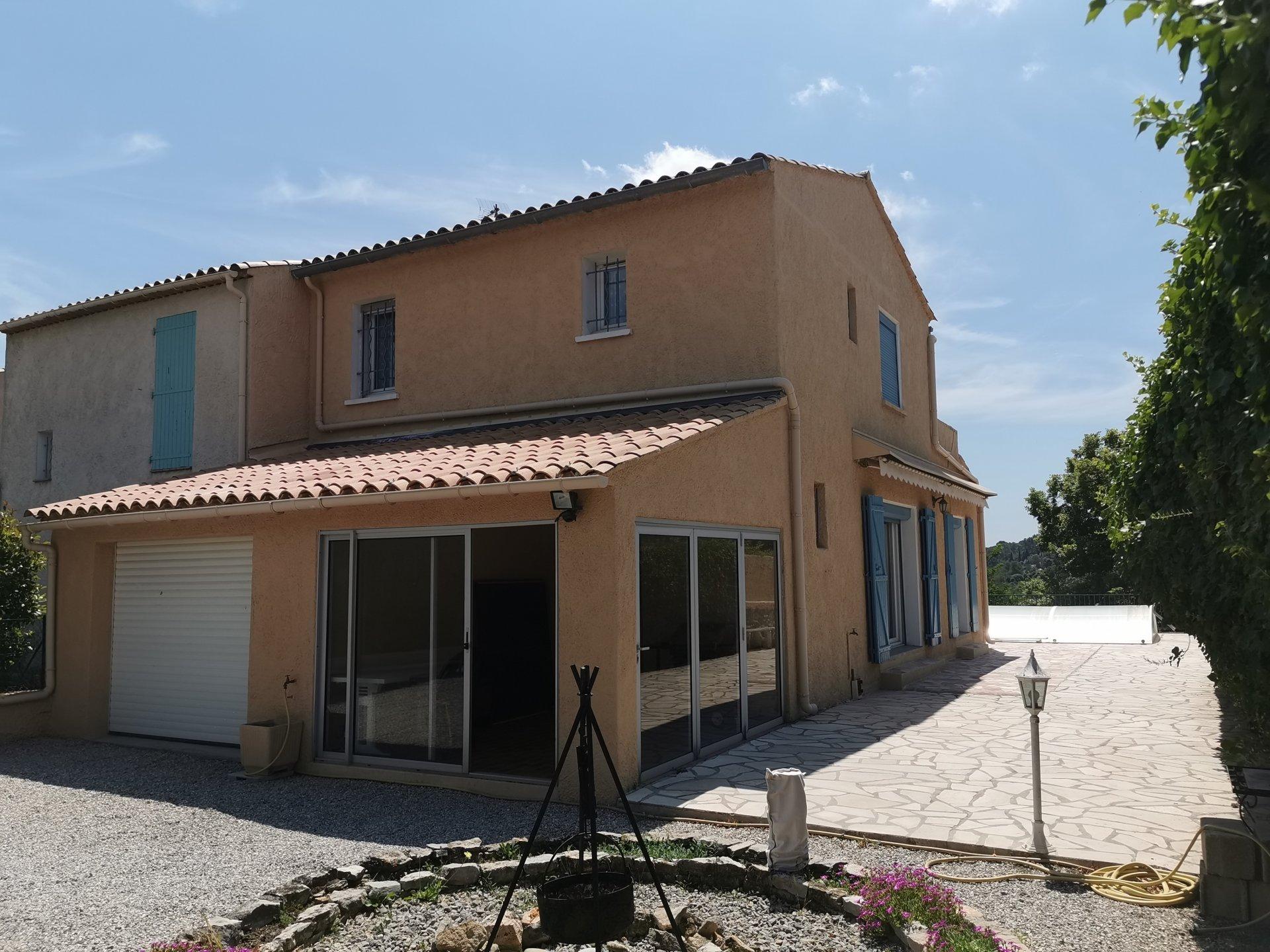 LORGUES, maison de 102 m² habitable, garage, piscine sur 390 m² de terrain