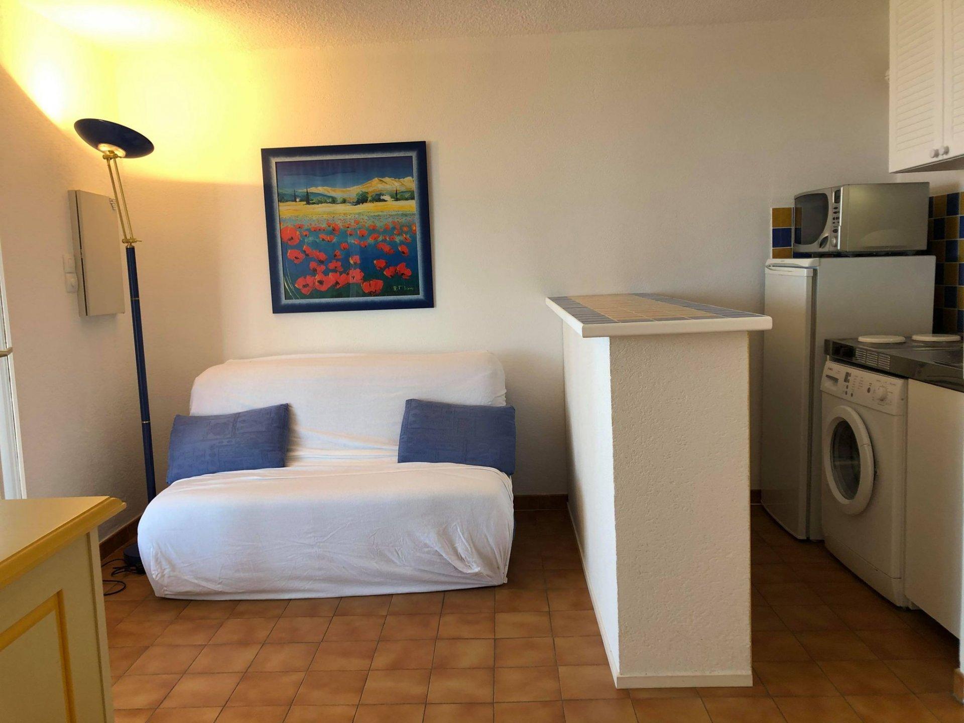 Appartement 3 pièces - Cavalaire sur Mer - 47m²