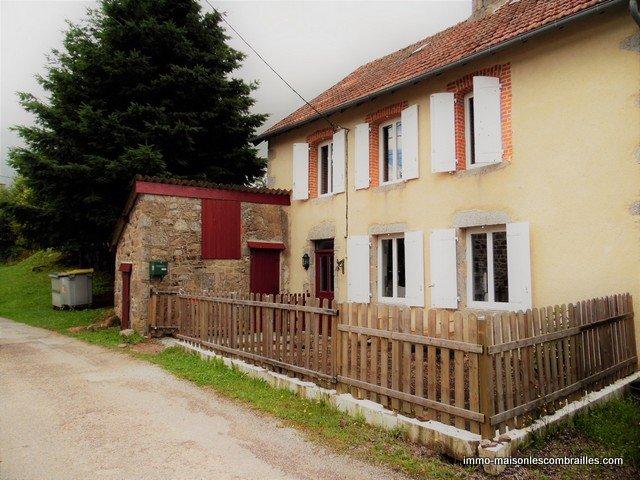 Zu verkaufen in der Creuse, ein Haus und Scheune auf 3500m²