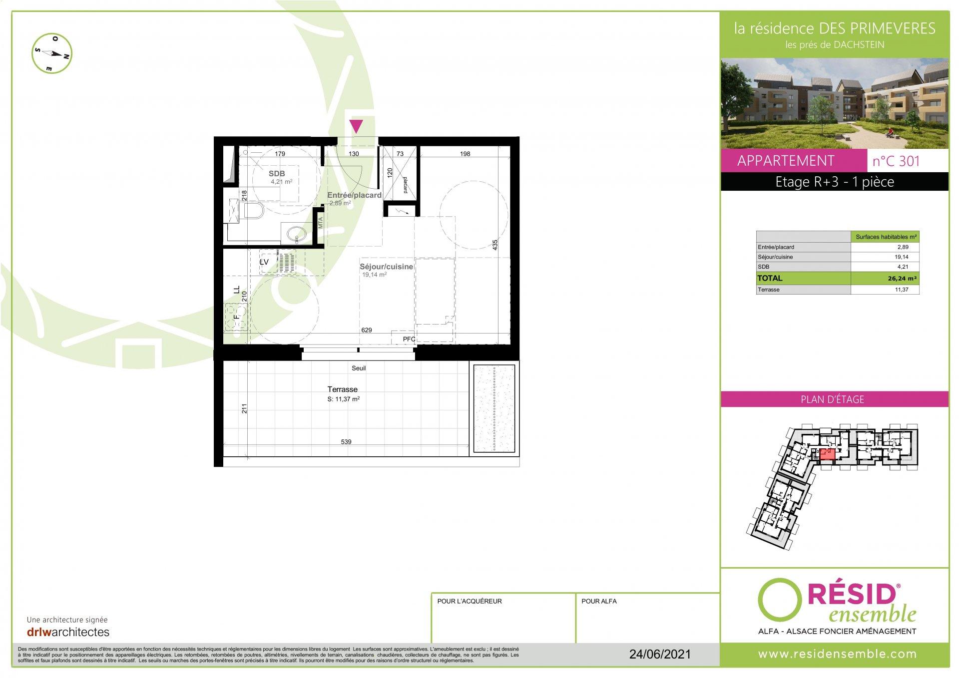 T1 en attique - C301 - SE
