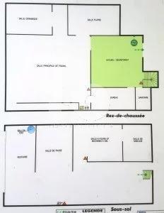 NICE ACROPOLIS- Local Commercial - MURS - 128 m2