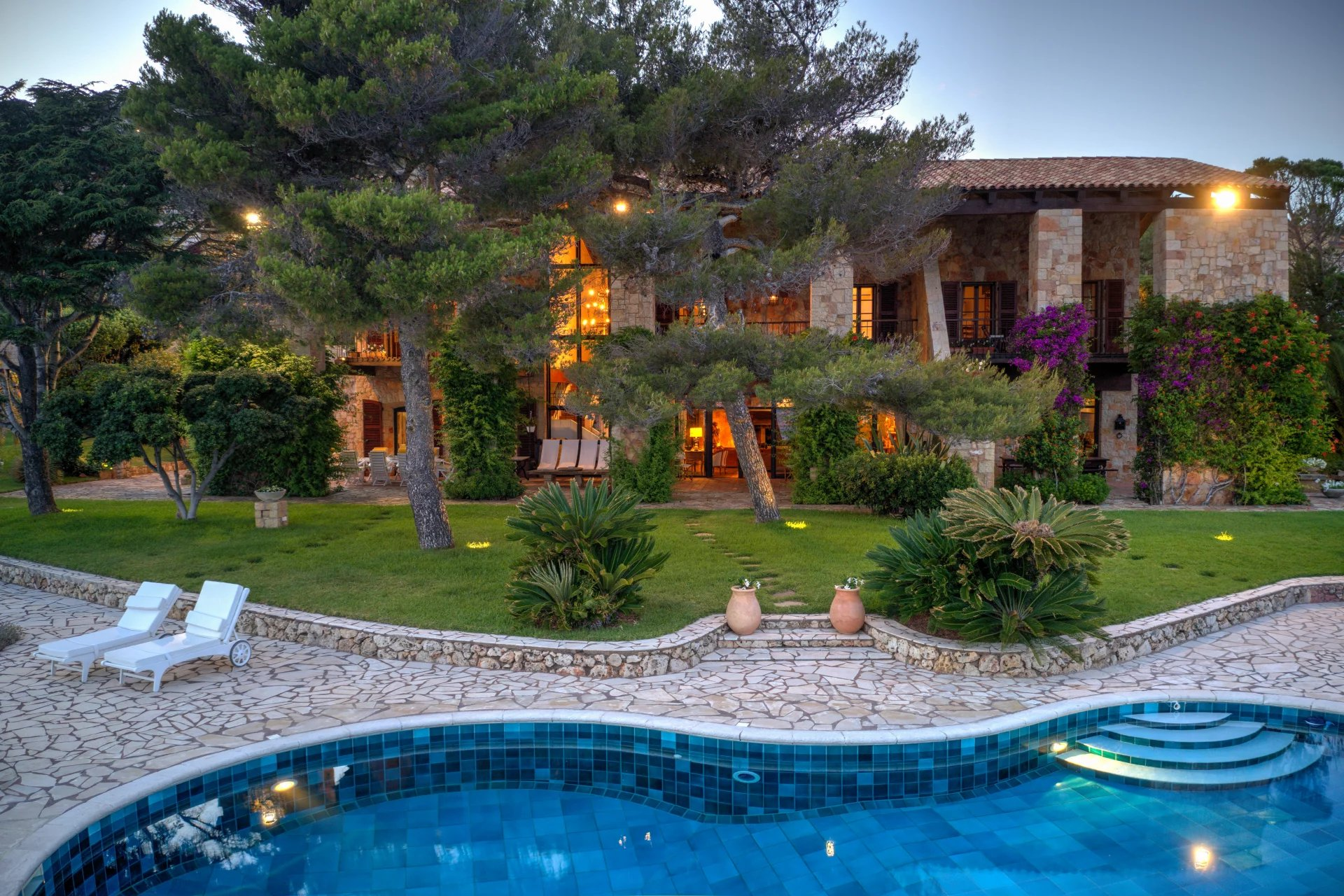 A Rare Waterfront Villa With Exclusive Access To The Mediteranean