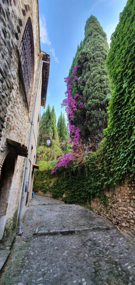 Charmant studio Haut de Cagnes avec vue, proche château.