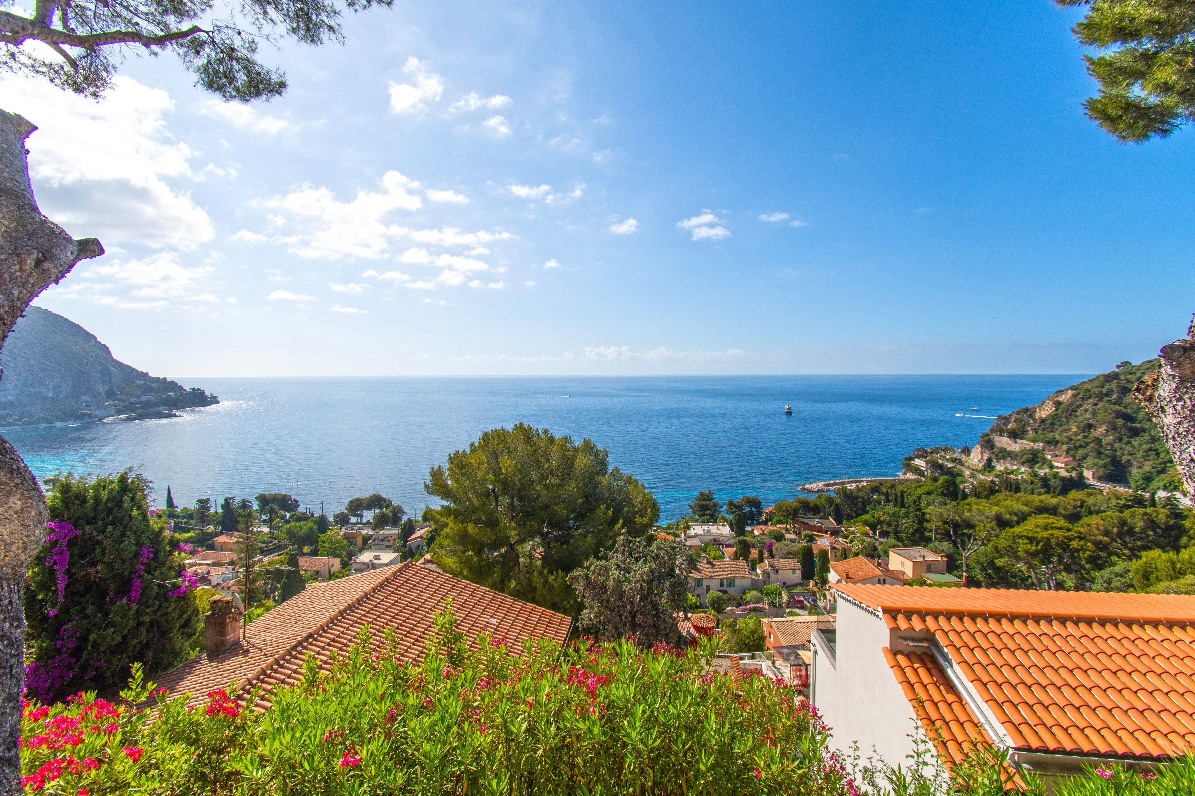 Vente Villa Eze sur Mer -  vue mer panoramique