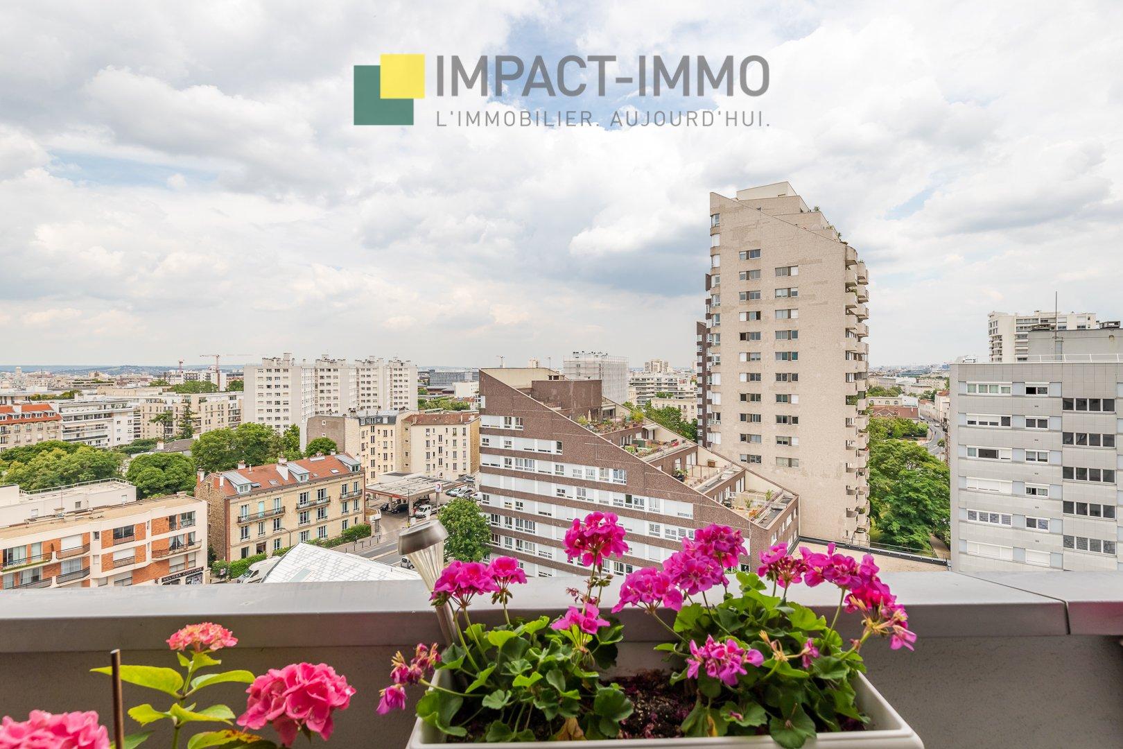 Courbevoie Centre - 4/5 pièces 96 m² avec balcon
