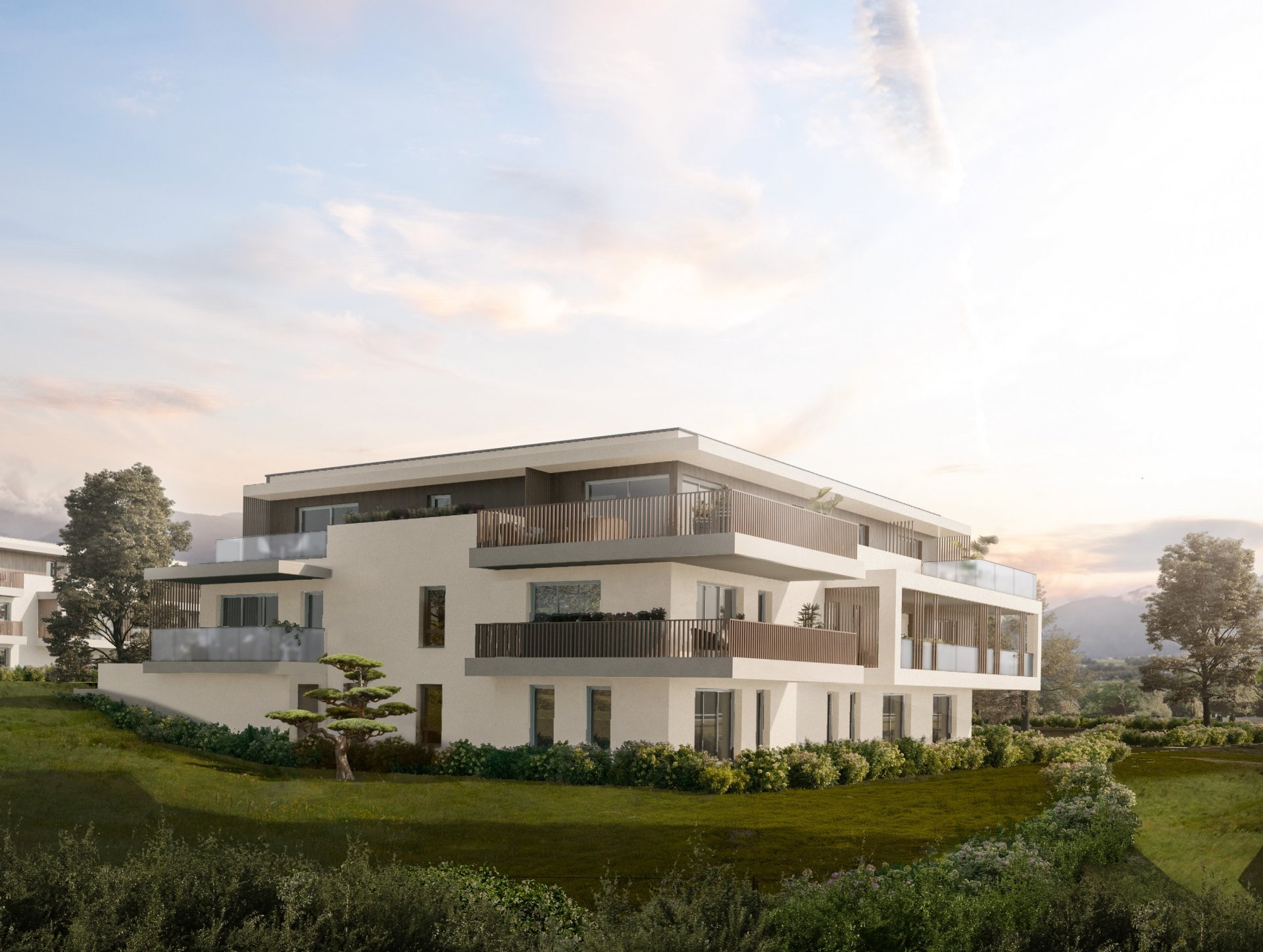 ANNECY NORD T4 DANS RESIDENCE NEUVE