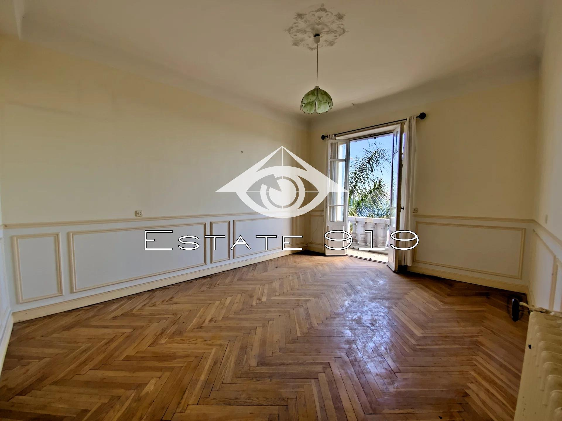 Juan-les-Pins Appartement 3 P Bourgeois avec extérieur