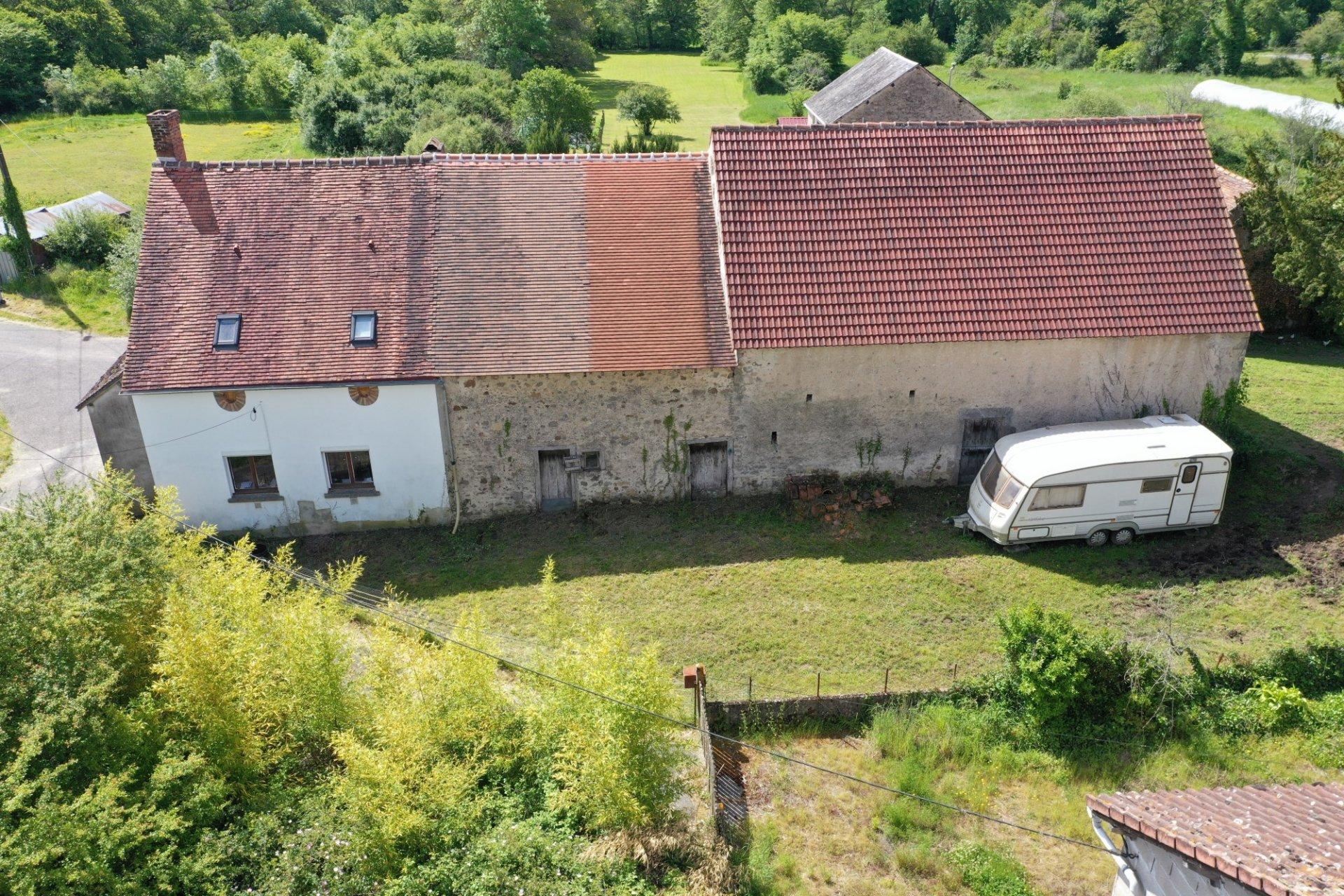 Biologische boerderij op 13 ha te koop noord Haute Vienne 87
