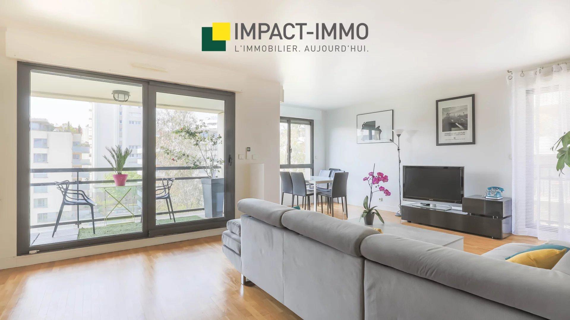 IMPACT IMMO LEVALLOIS - A VENDRE - 5 PIÈCES - BALCONS TERRASSES -PROCHE 17 EME