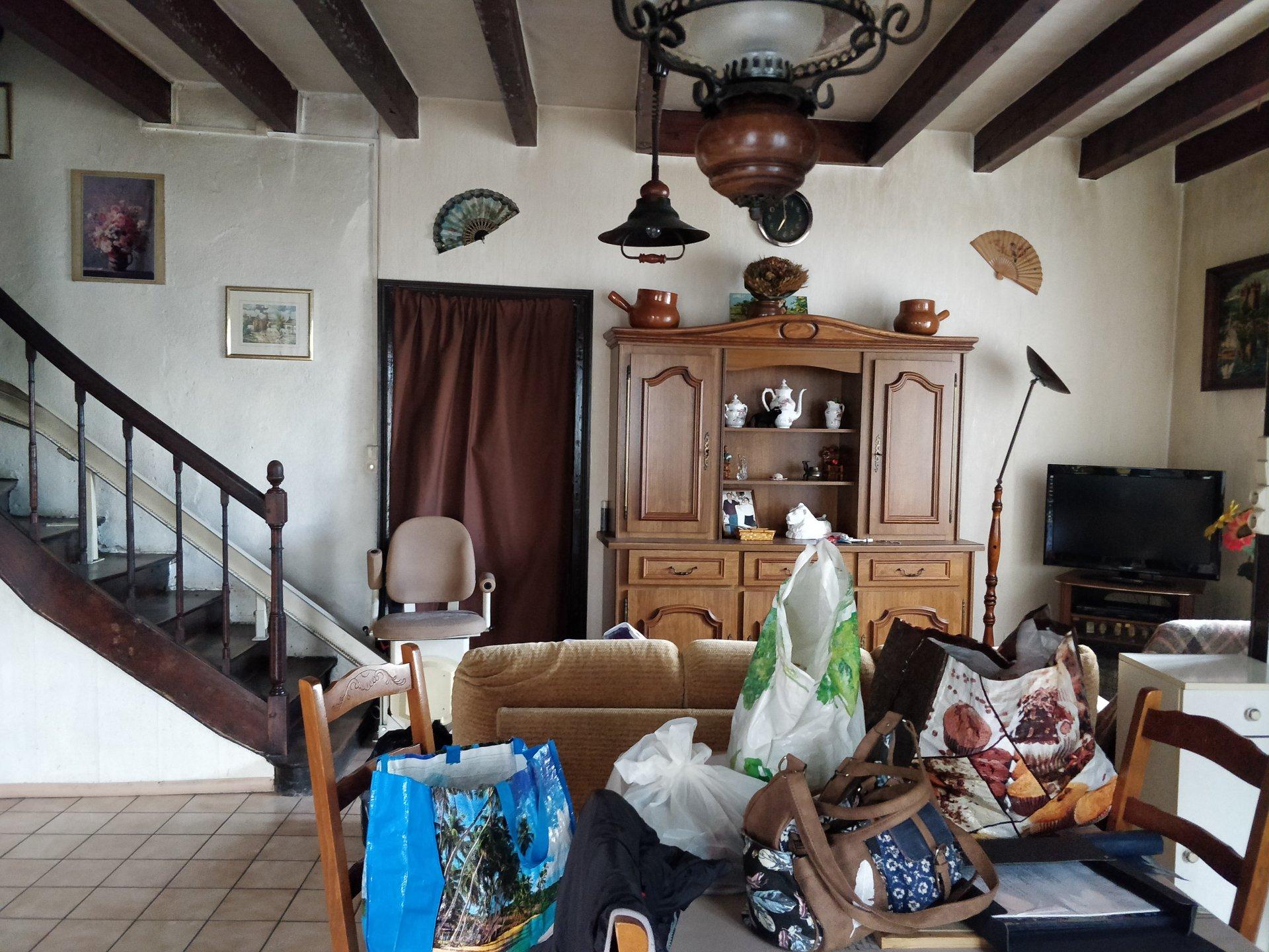 Maison de village avec terrain non attenant