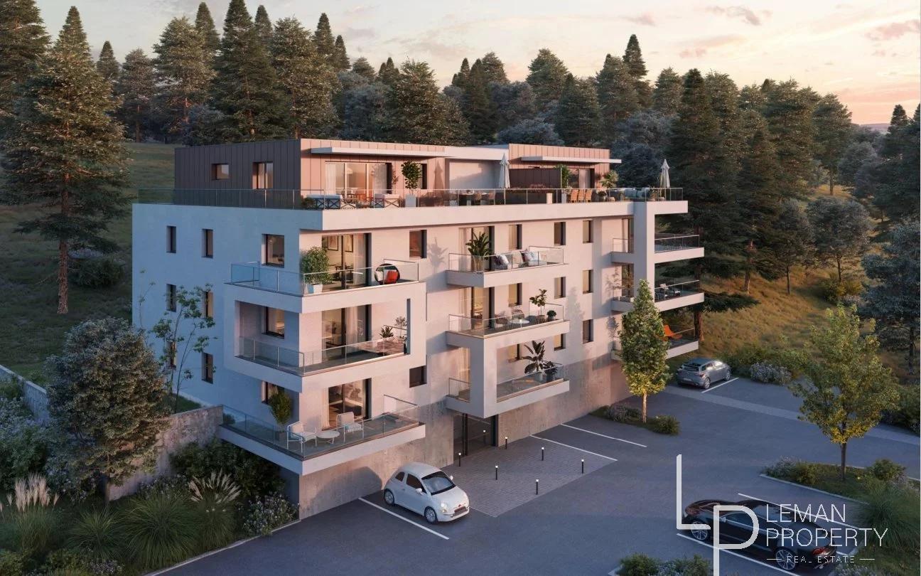 Appartement  4 pièces en attique - Évian-les-Bains