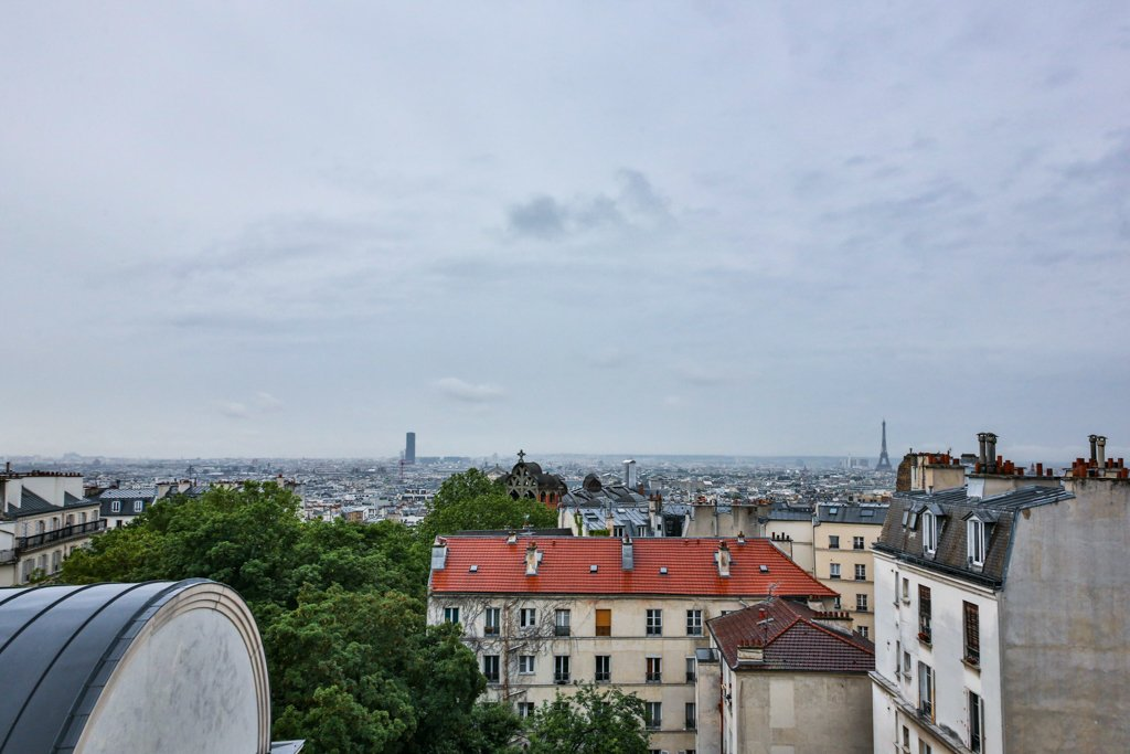 Vue Panoramique sur Paris et la Tour Eiffel