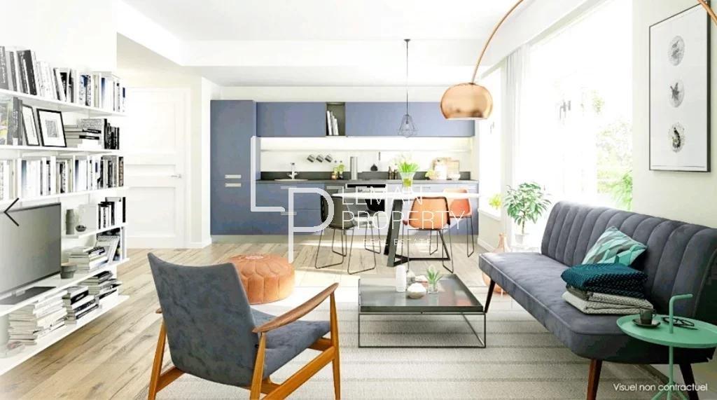 Vente de appartement d'une surface de 61.4 m2