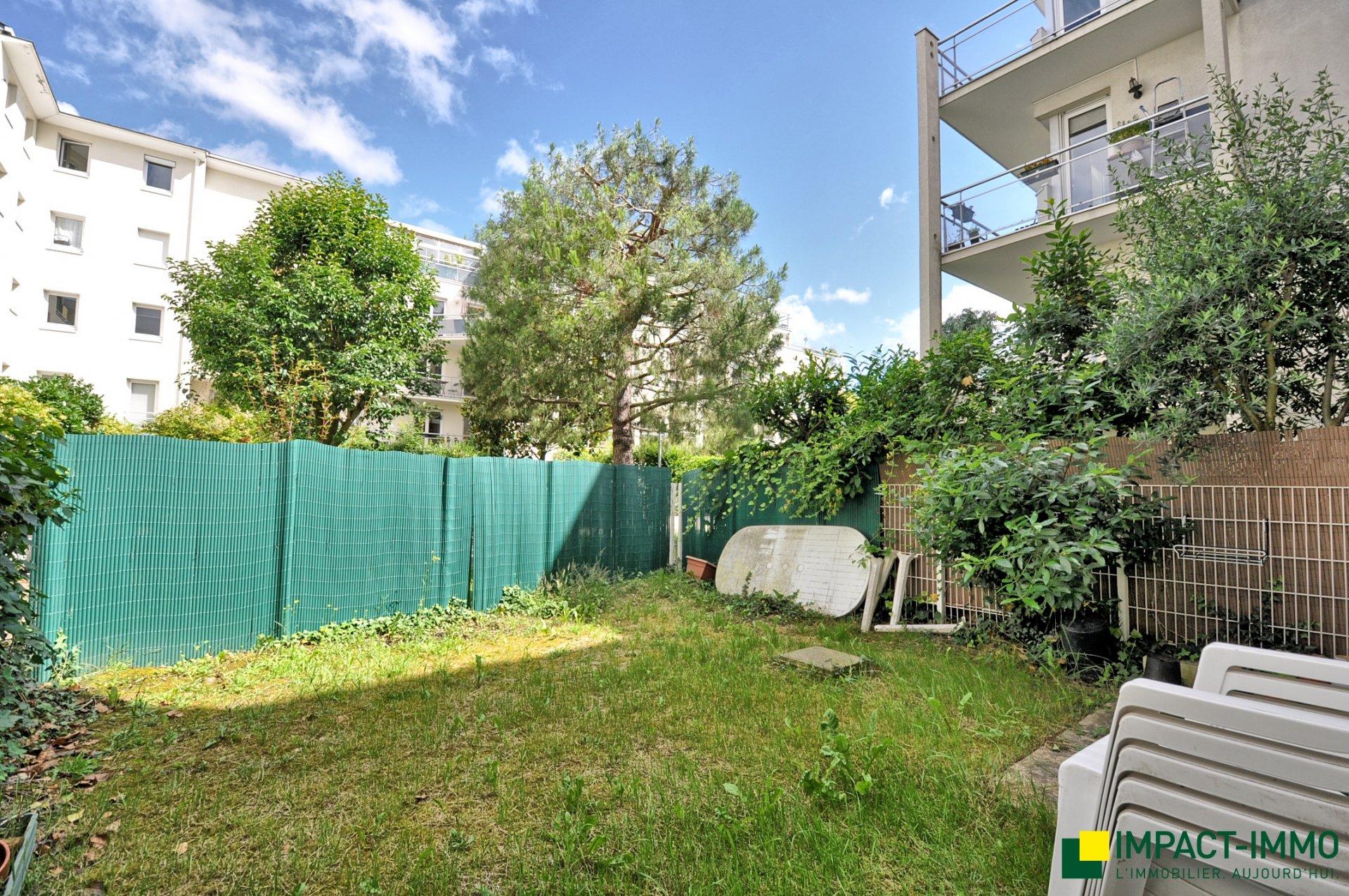 4 p en rez de jardin,  parking double - Ile Saint Germain