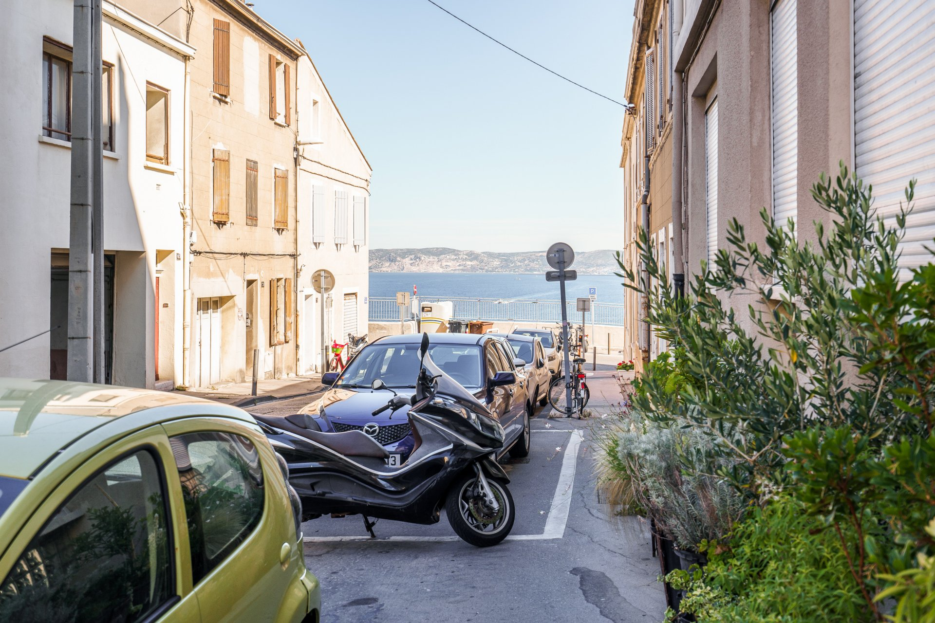 Trois pièces avec balcon et parking