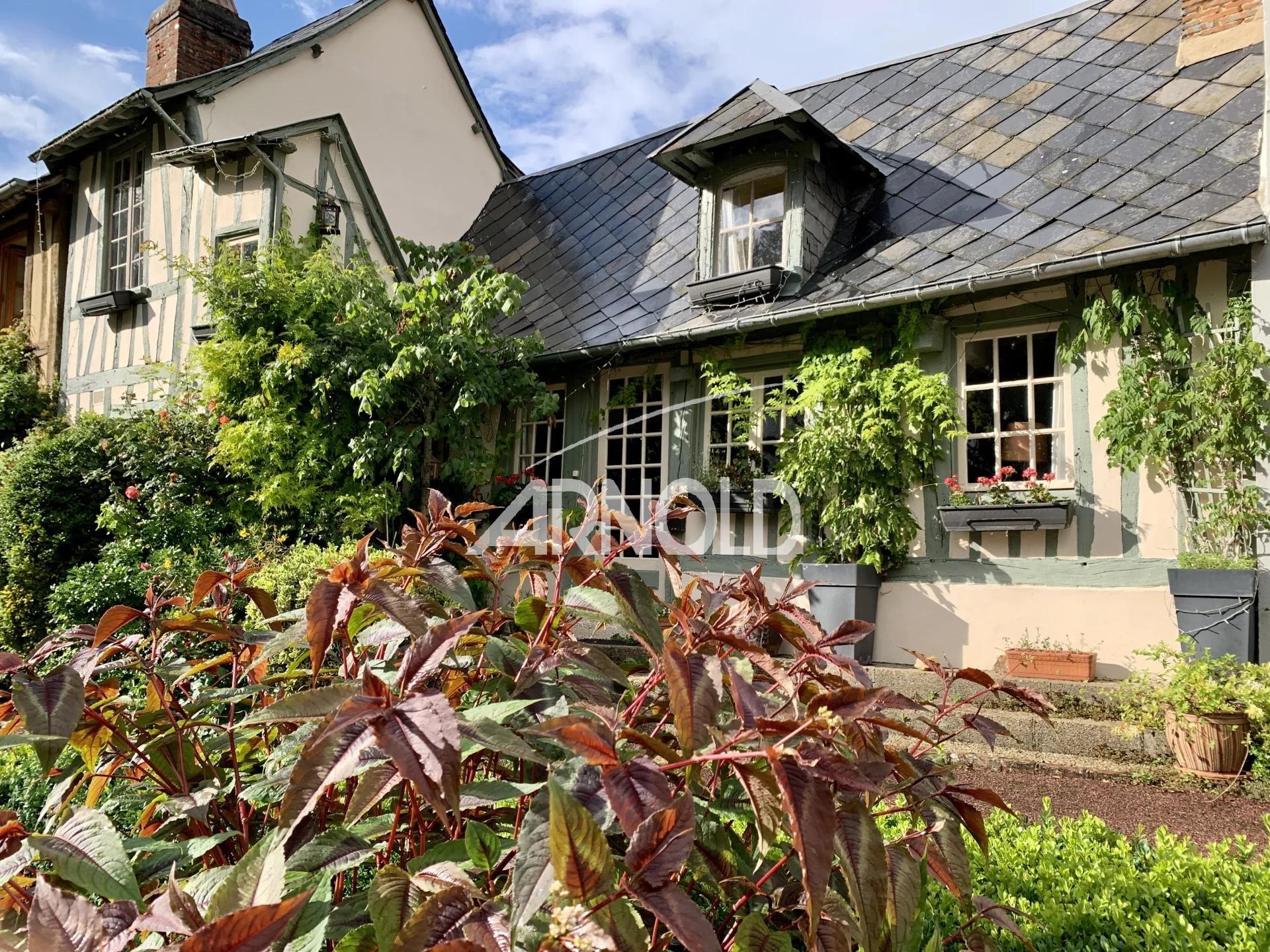 Charmante maison au coeur du village du Bec-Hellouin