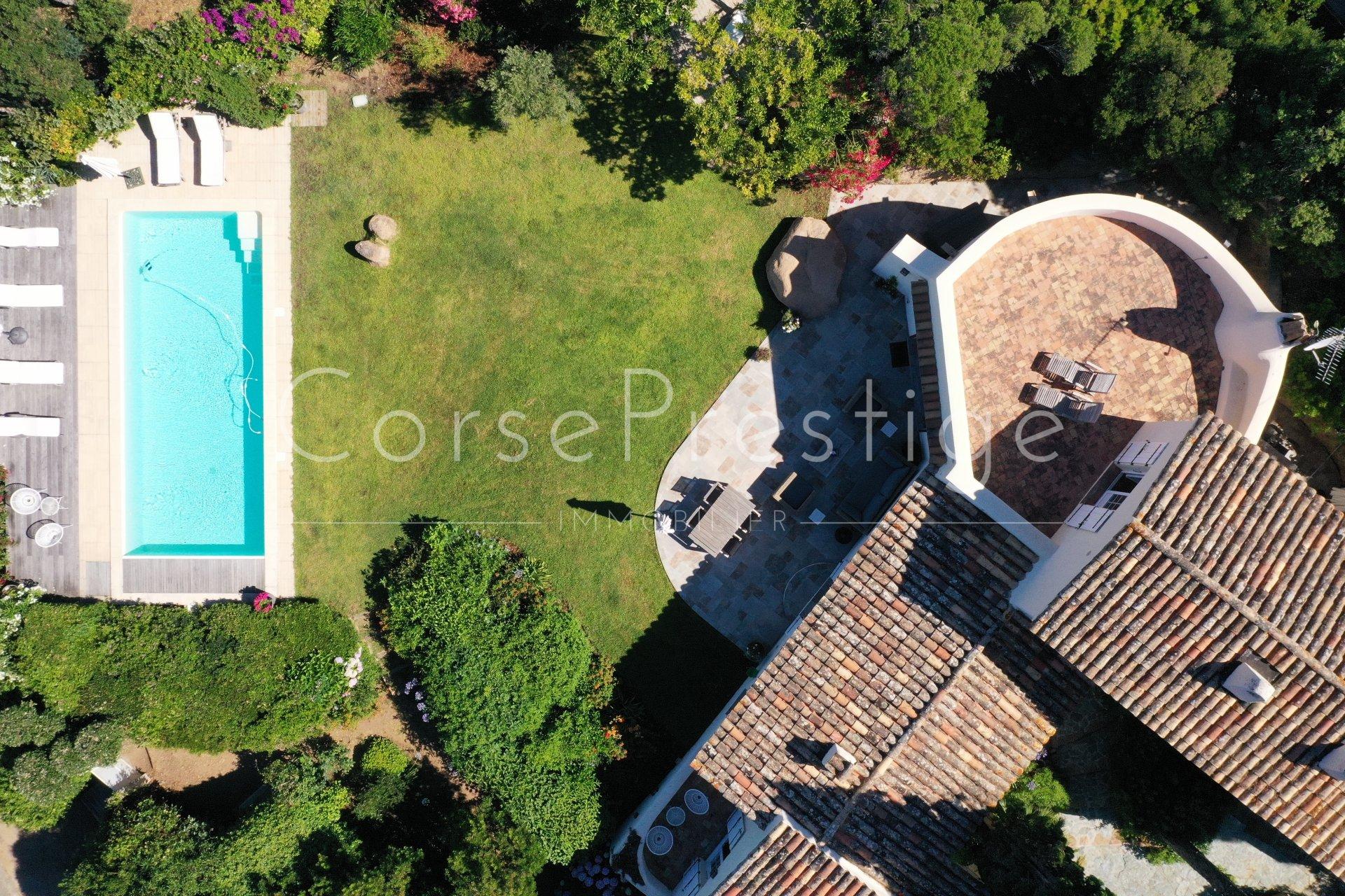 porticcio - charming property facing the sea image1