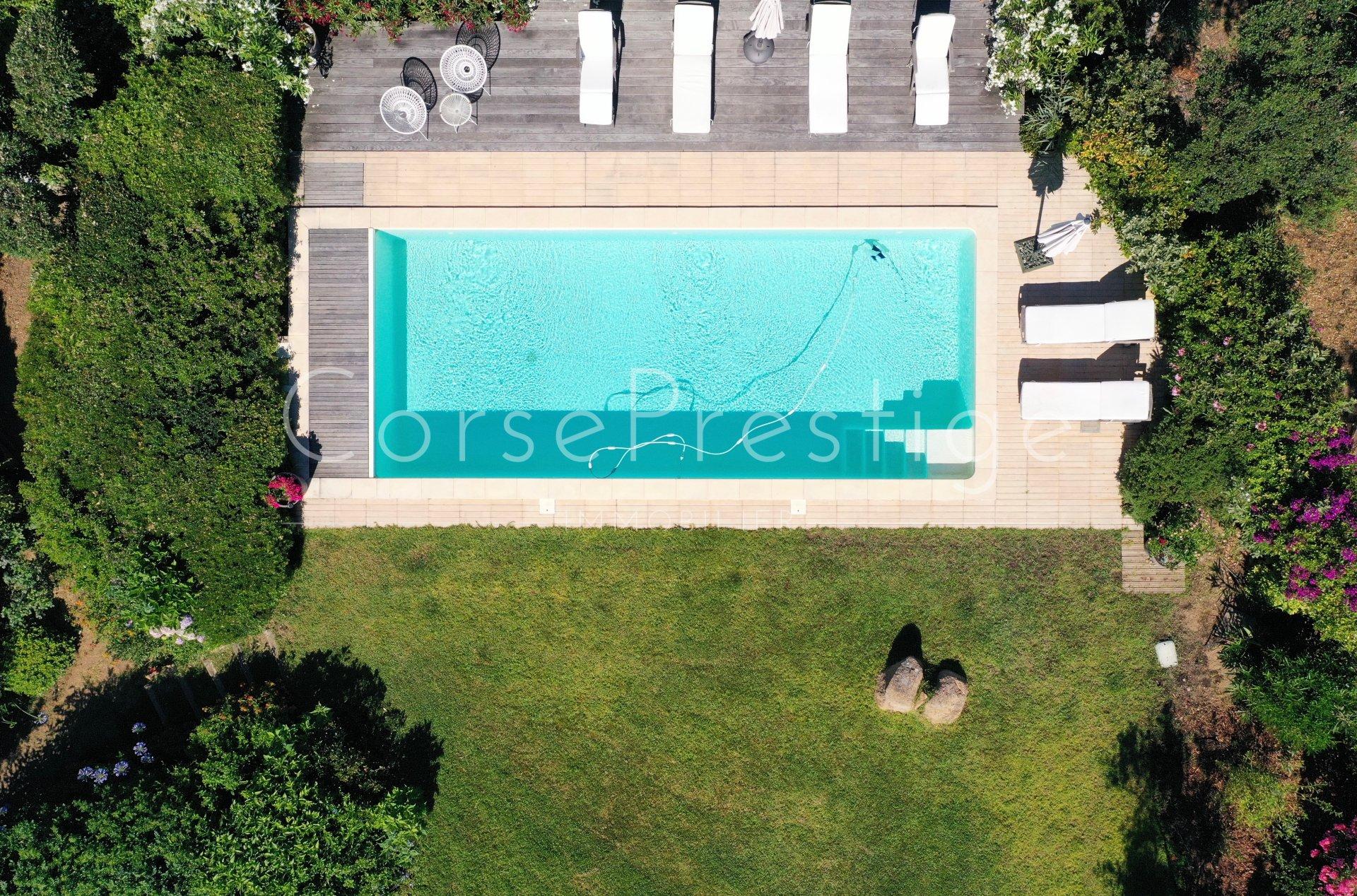 porticcio - charming property facing the sea image2