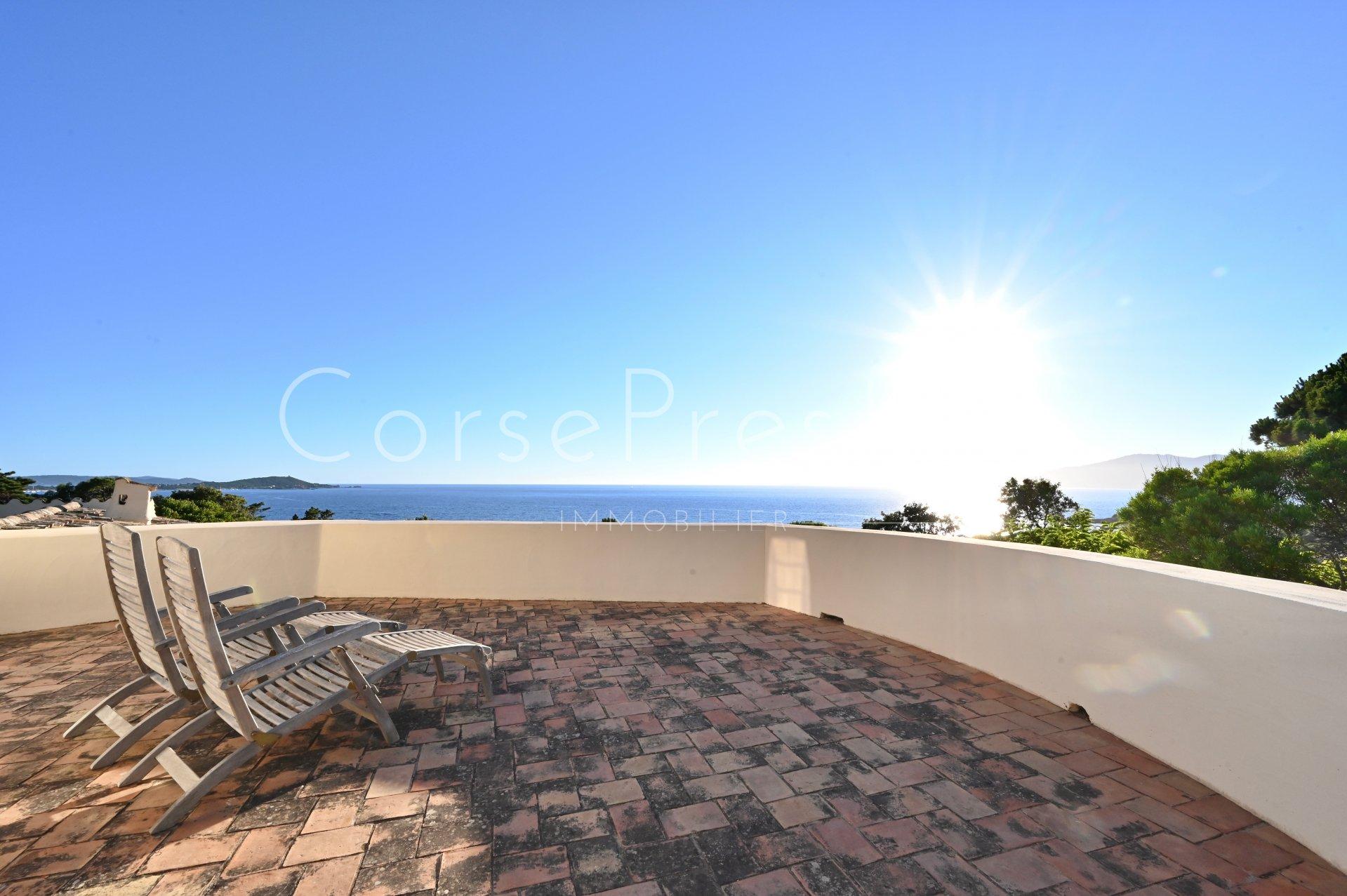 porticcio - charming property facing the sea image7