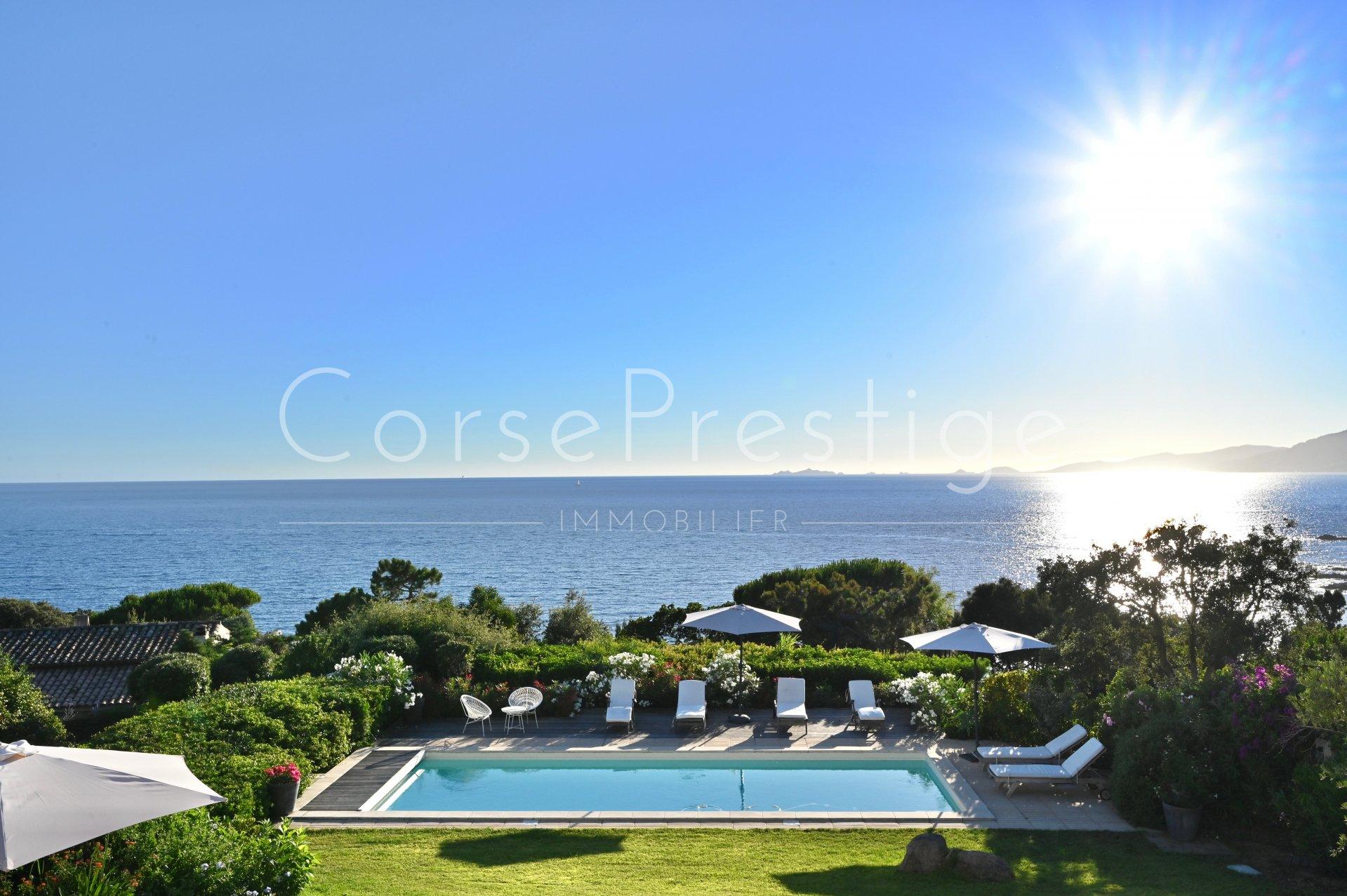 porticcio - charming property facing the sea image3