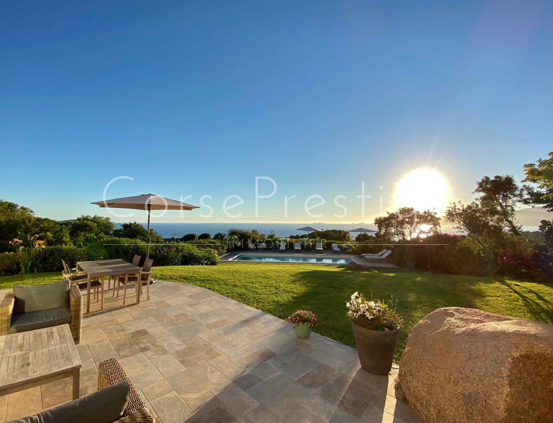 porticcio - charming property facing the sea image5