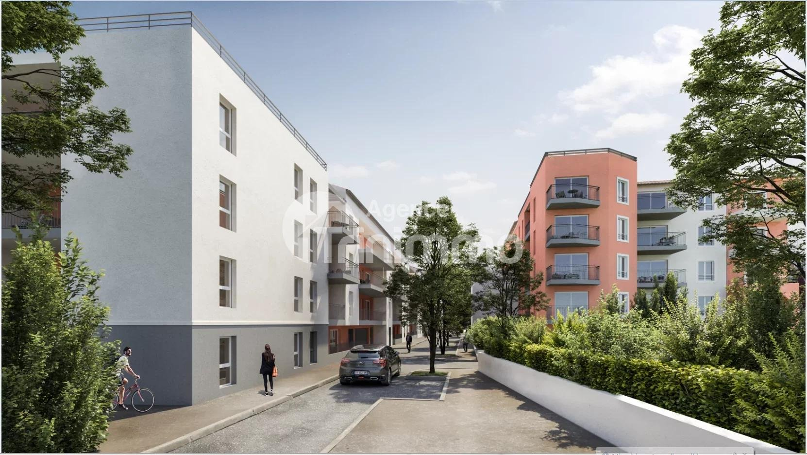 Saint André de la Roche - Programme neuf 4 pièces avec 2 parkings à partir de 360 000€
