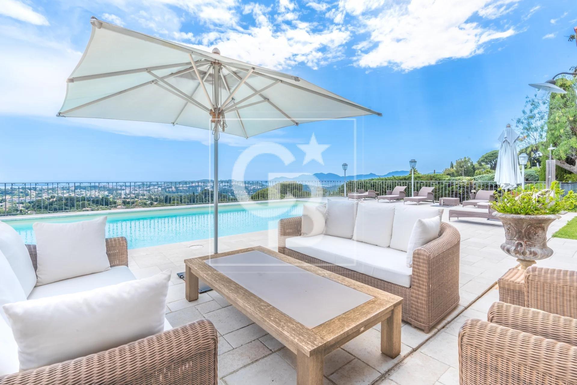 Superbe villa avec vue Mer panoramique