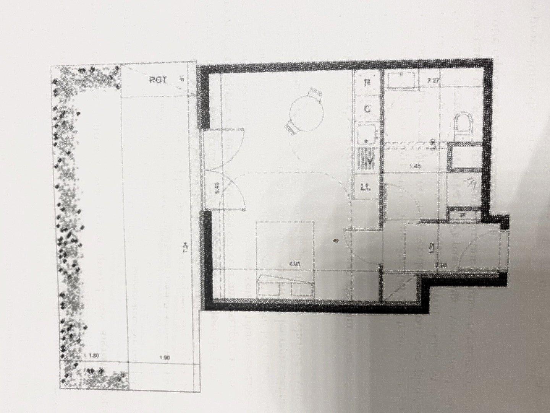 Ostwald - Studio rez de jardin - 33m²