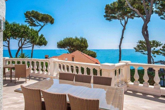 Cap d'Antibes  - Villa med vakker sjøutsikt