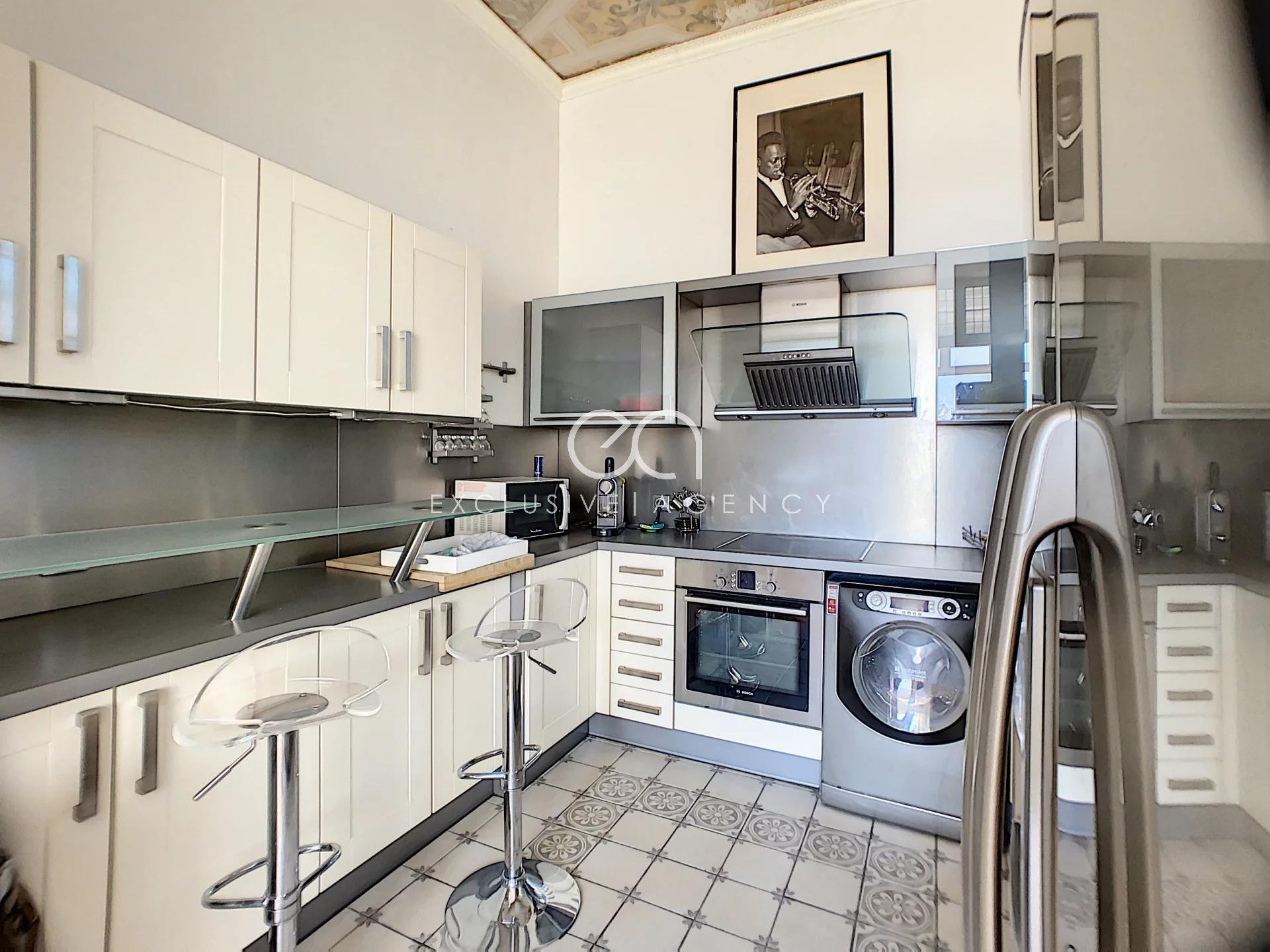 Cannes 3 rooms furnished in charming villa