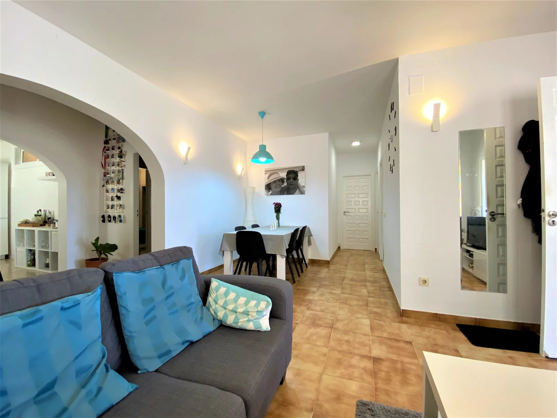 Bel appartement avec vue mer panoramique