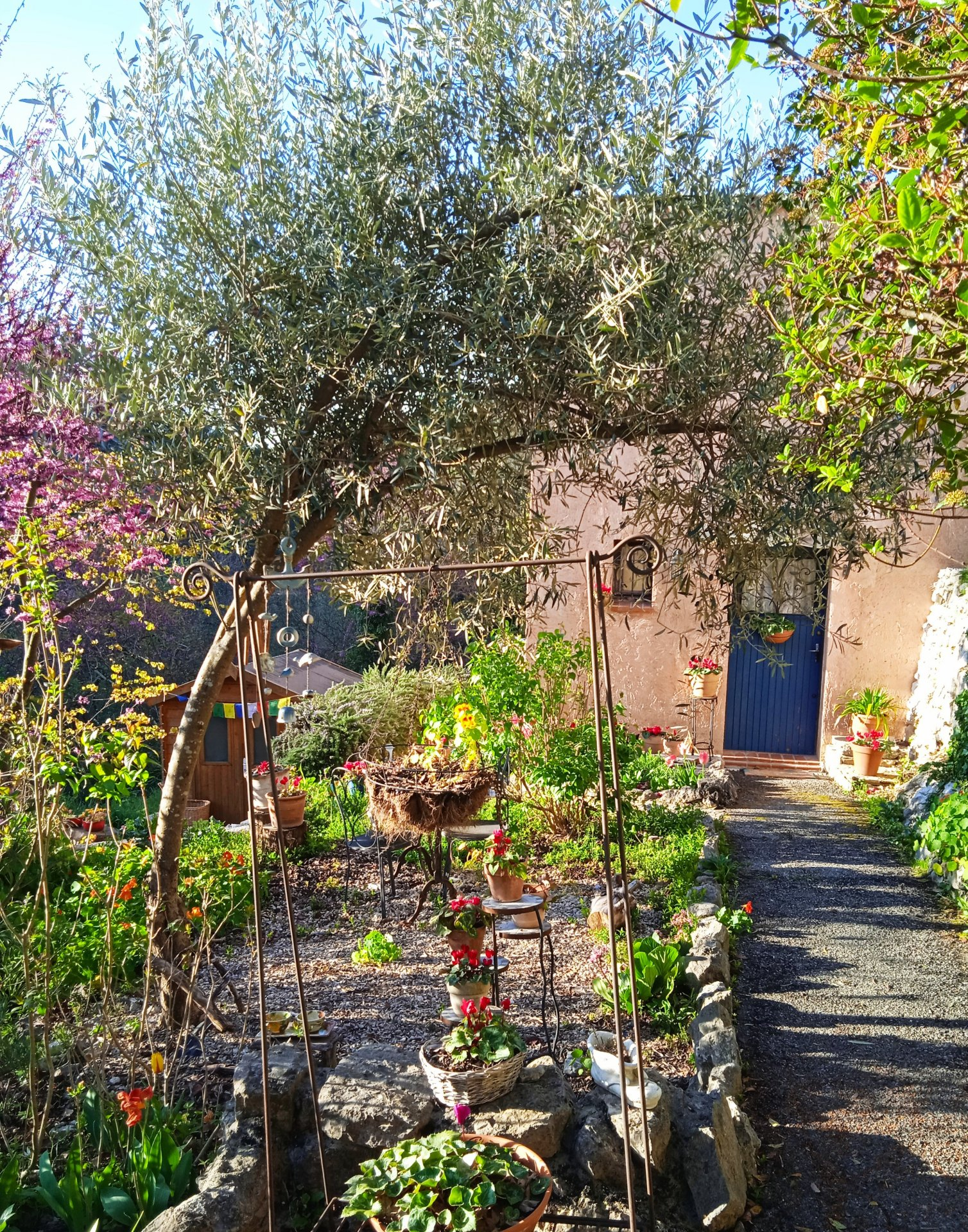 Vence : close to all commodities, house of 45 m² in the middle of nature