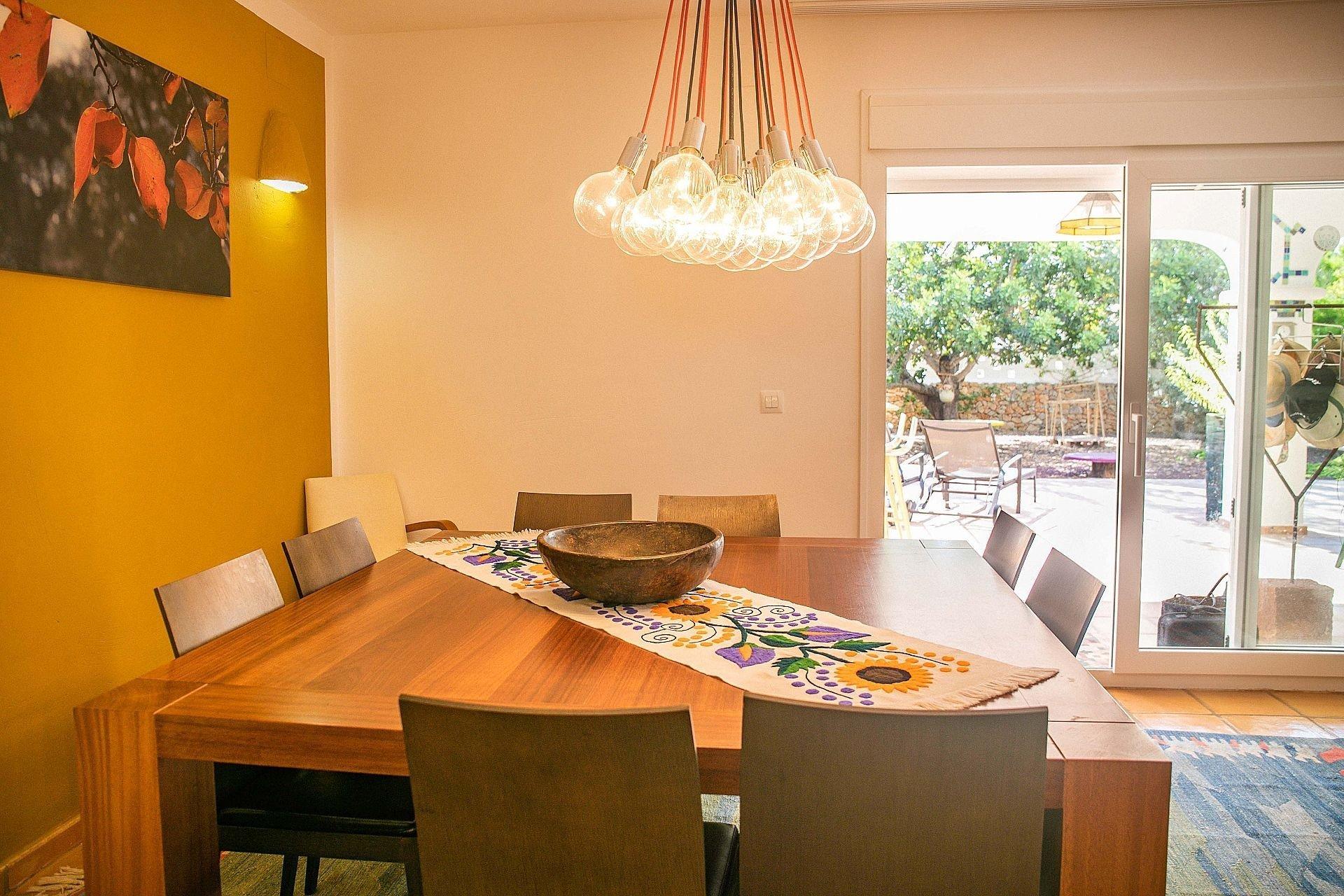 Ibiza style villa within walking distance of the sea