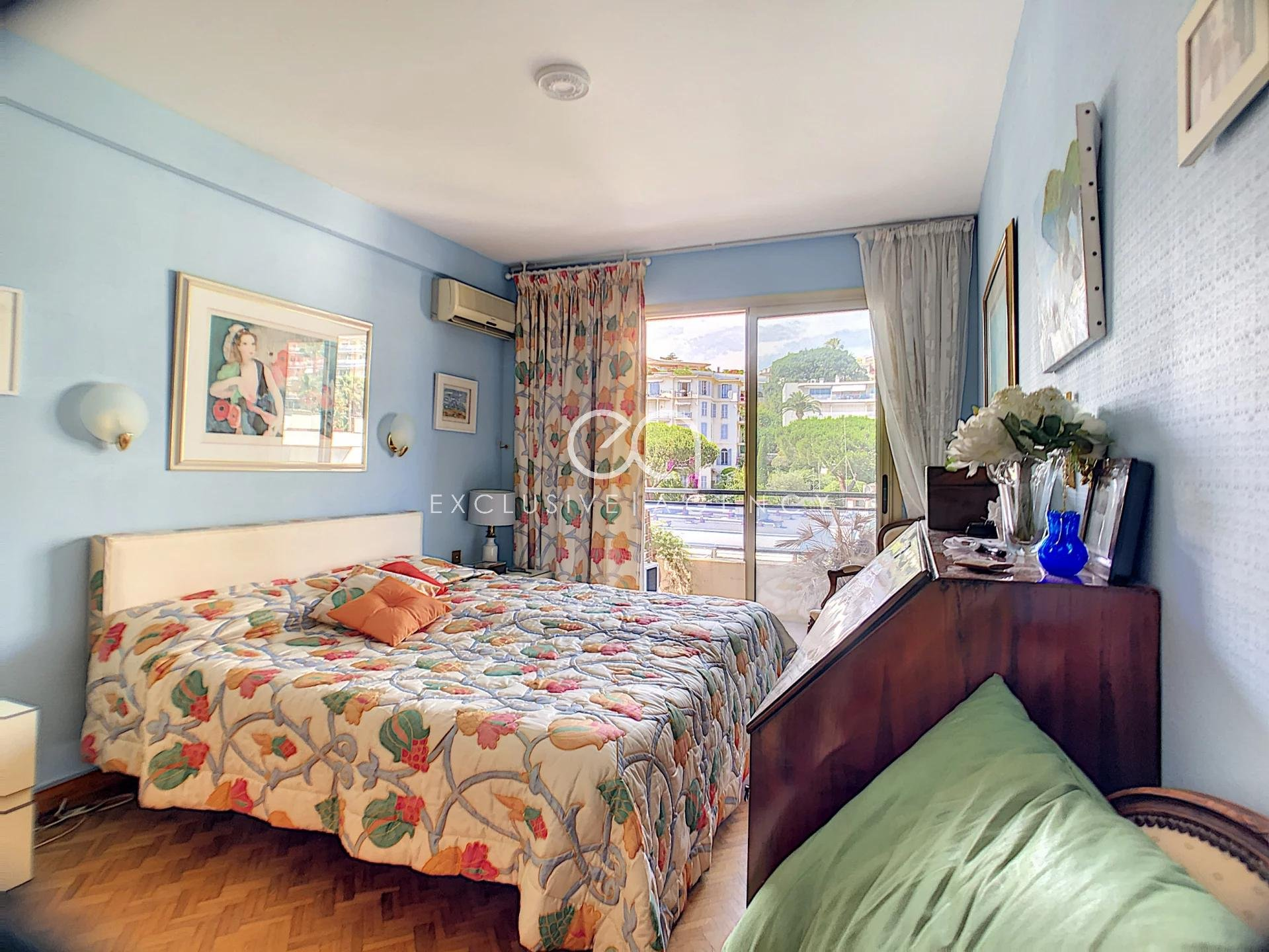 Cannes Basse Californie 3 rooms with terrace and garage