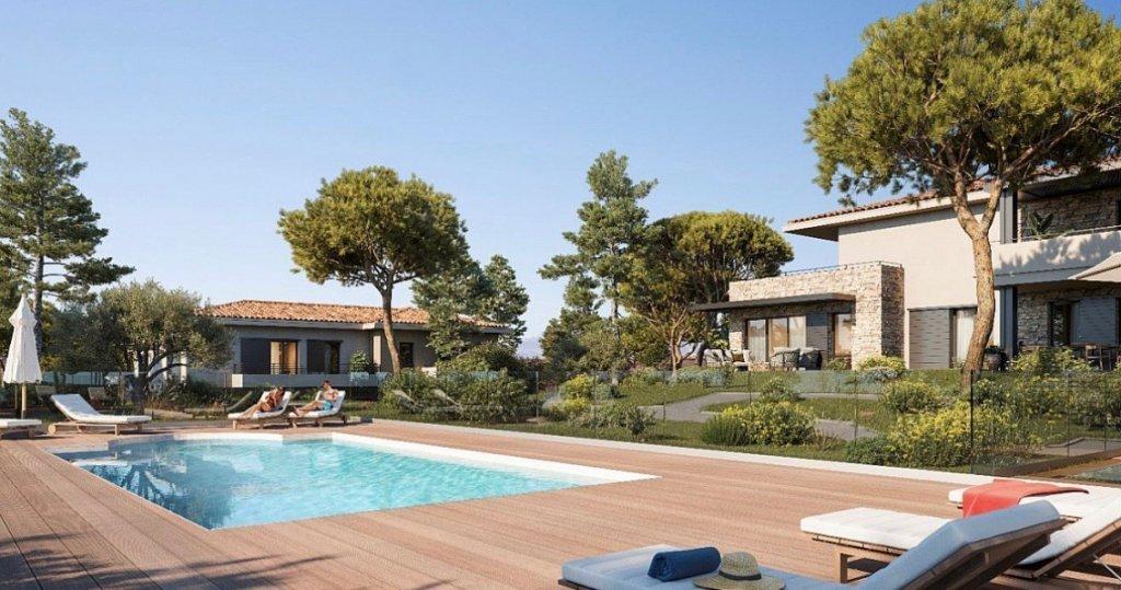 SAINTE MAXIME - Région PACA - vente villa neuve - Domaine avec piscine