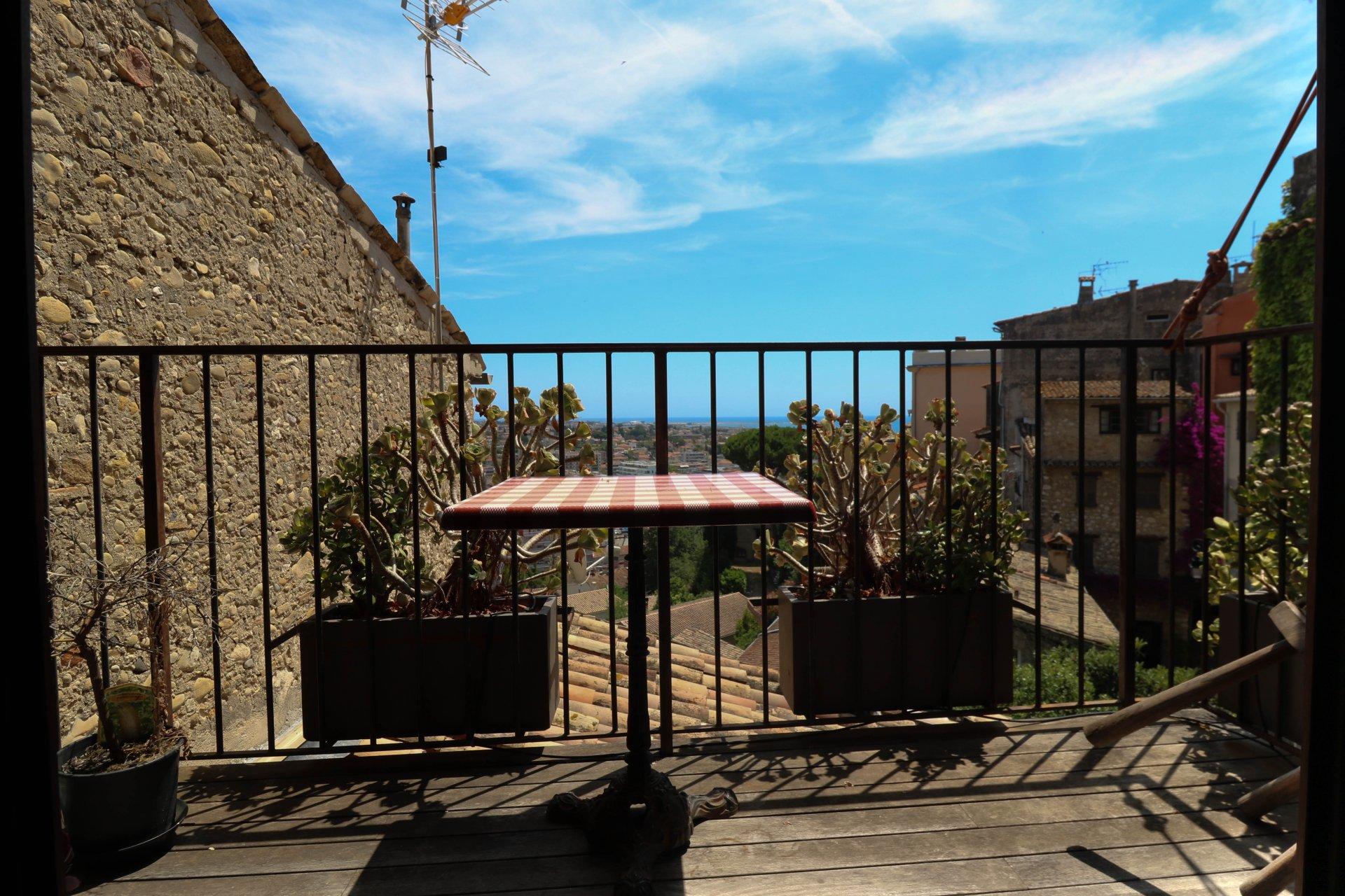 Maison de village avec studio - Haut Cagnes sur Mer