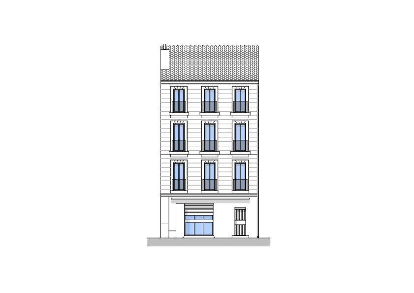 L'INVEST - Immeuble de 4 lots + 1 local commercial
