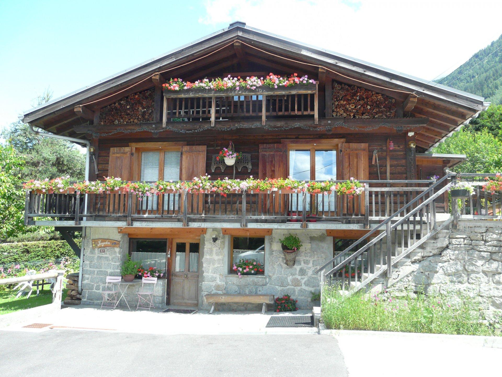 Chalet-Chamonix à pied