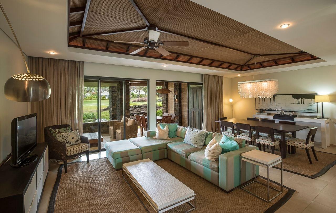 Appartement entre golf et mer