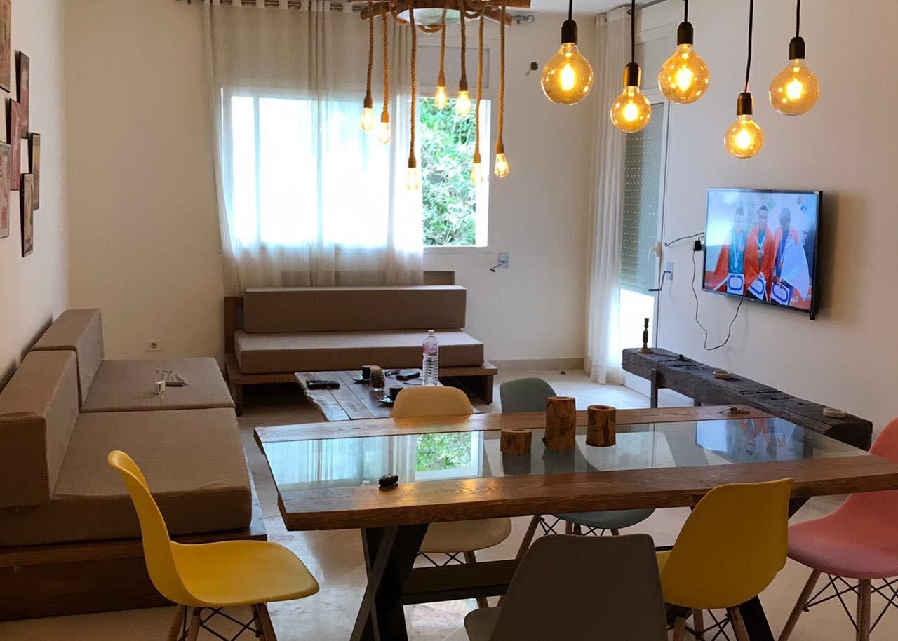 Location Appartement S+3 meublé à Gammarth