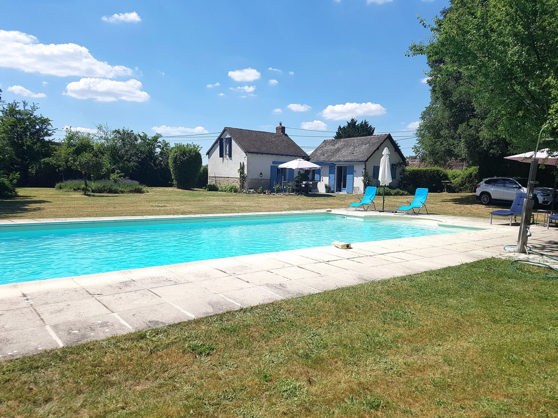Two cottages with pool for sale in the Brenne, Indre 36