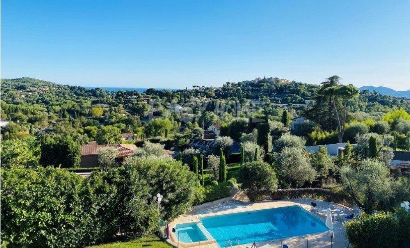 achat vente villa  mougins vue mer et village